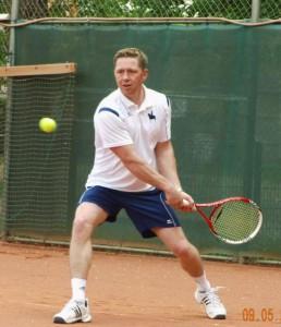 Spielszene-Tennis