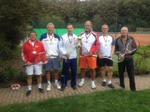 Tennis-Mannschaftsfoto